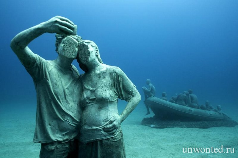 Подводная скульптура Селфи - Selfie Джейсон де Кайрес Тэйлор