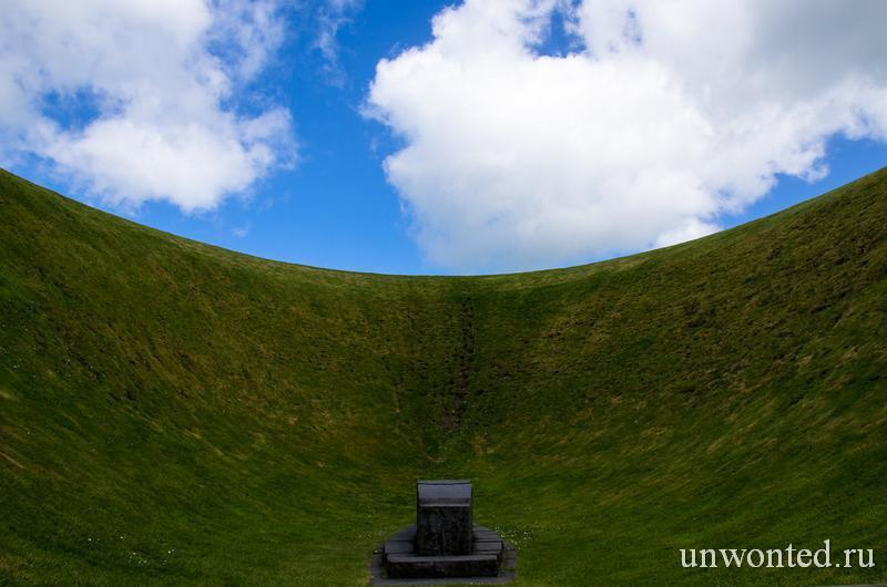 Ирландский Небесный Сад - The Irish Sky Garden Crater