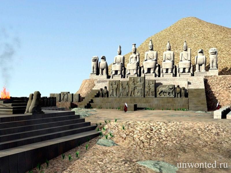Пантеон богов Немрут Даг - реконструкция