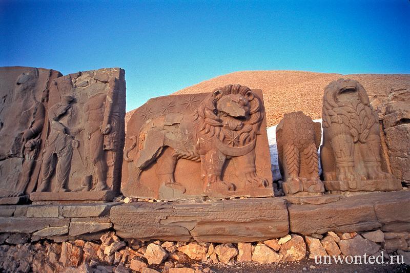 Гороскоп Коммагена - каменная стела Немрут Даг
