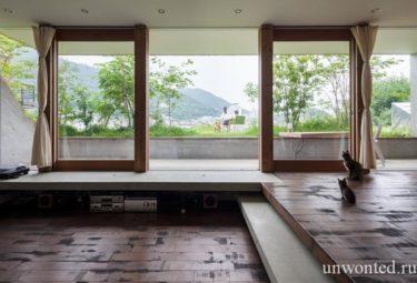 Панораные раздвижные окна-двери в комплексе Greendo