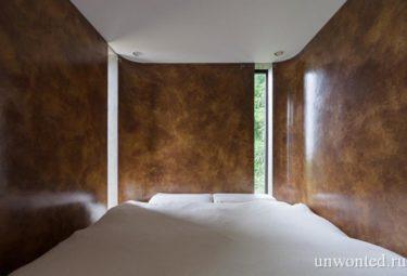 Интерьер спальни - комплекс на склоне горы Greendo