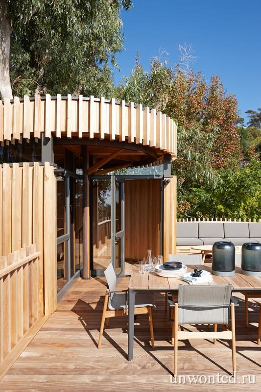 Открытая терраса - дом на дереве Paarman Treehouse