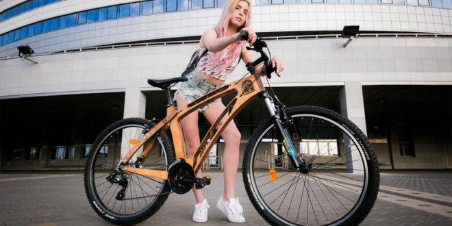 Необычные велосипеды из дерева 13craft