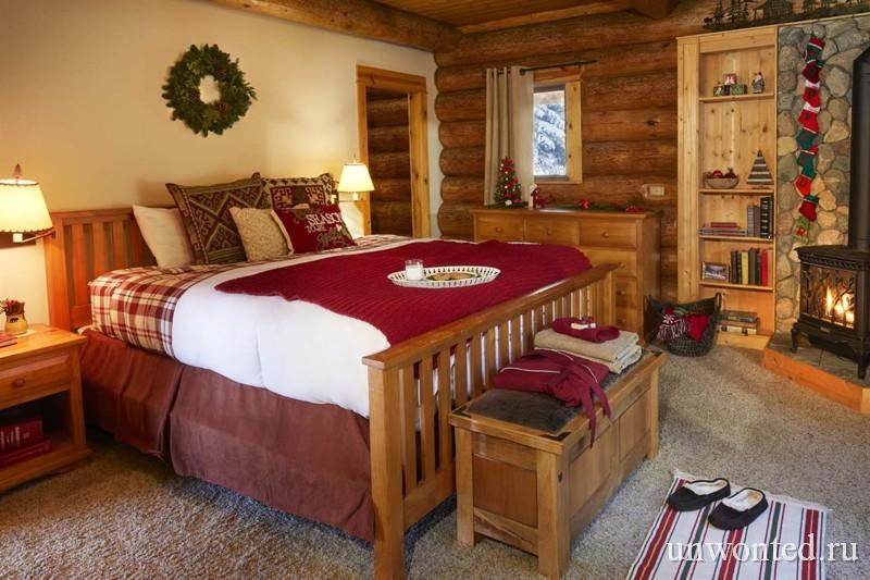 Спальня в доме Санта Клауса
