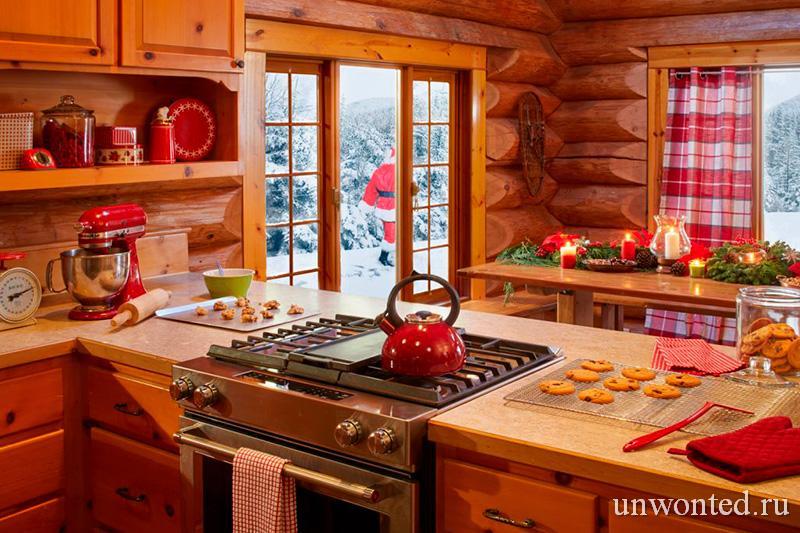 Кухня миссис Санты в скандинавском стиле