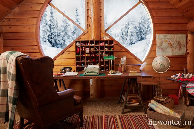 Рабочий кабинет в доме Санта Клауса