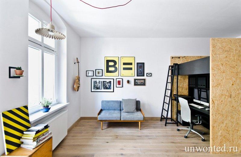 Квартира 37 квадратов фото - Brandburg home & studio