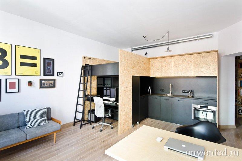 Дизайнерская квартира студия фото Brandburg home & studio