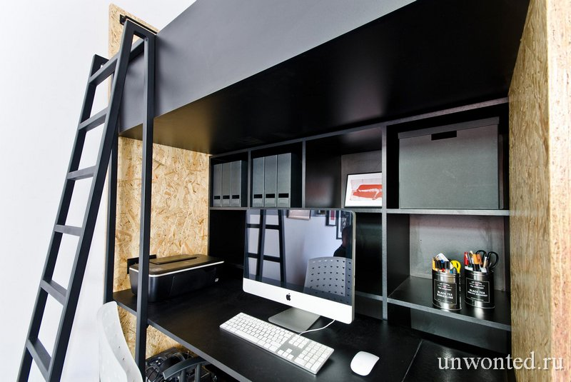 Рабочее место в квартире студии Brandburg home & studio