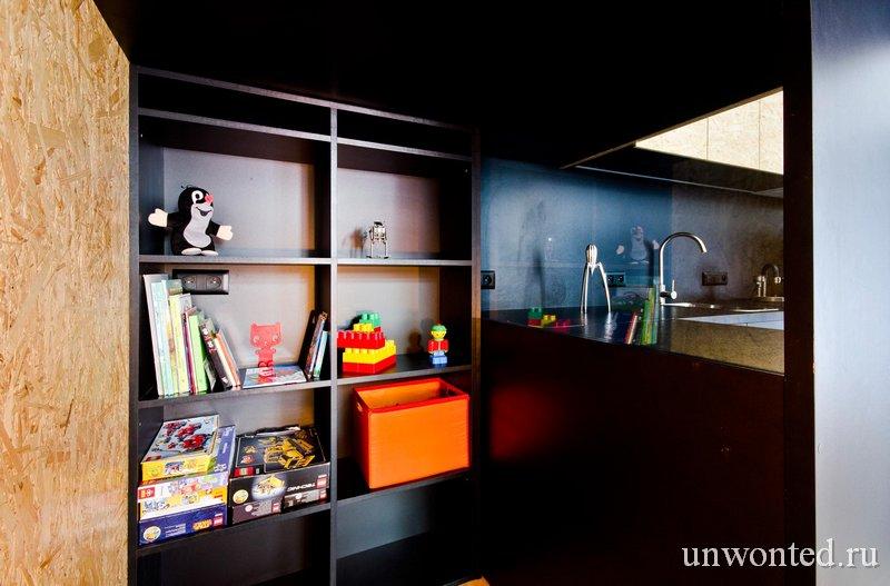 Квартира с тайником для ребенка - Brandburg home & studio