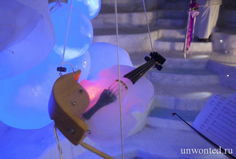 Ледяная скрипка IceViolin Тима Линхарта