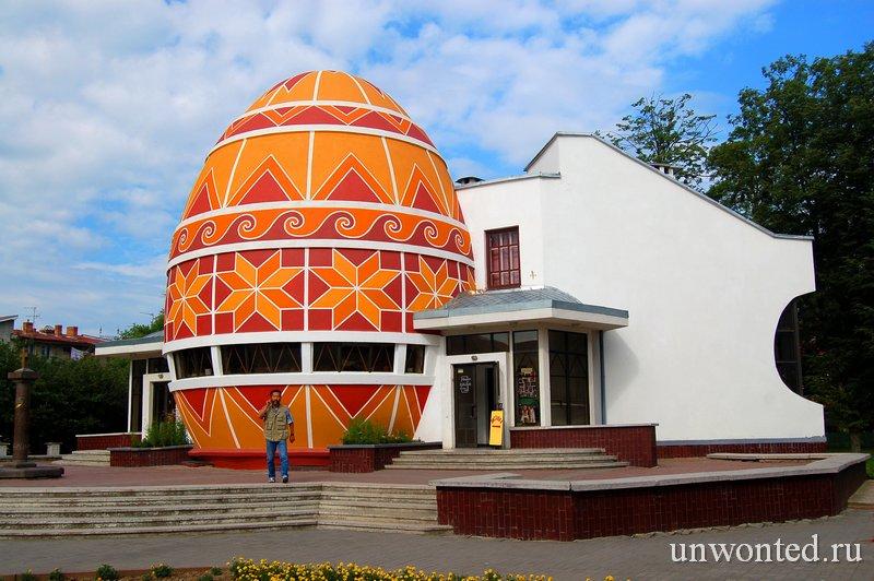 Необычная архитектура музея Писанки