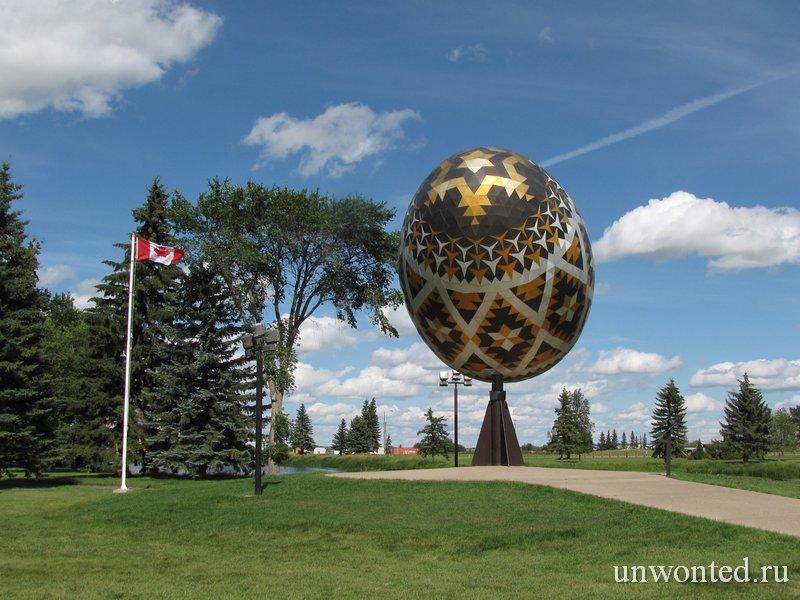 Пасхальное яйцо Вегревилл фото