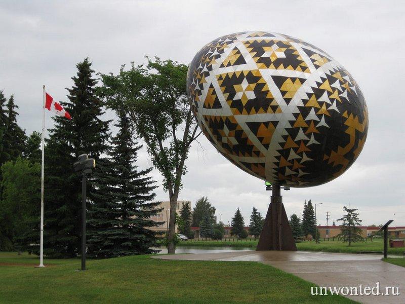 Пасхальное яйцо в Вегревилле фото