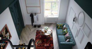 Квартира студия с антресолью в Люблине — О мой Босх!