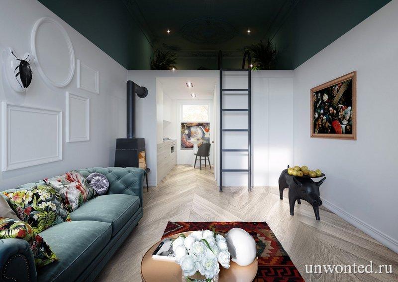 Антресоль в квартире фото