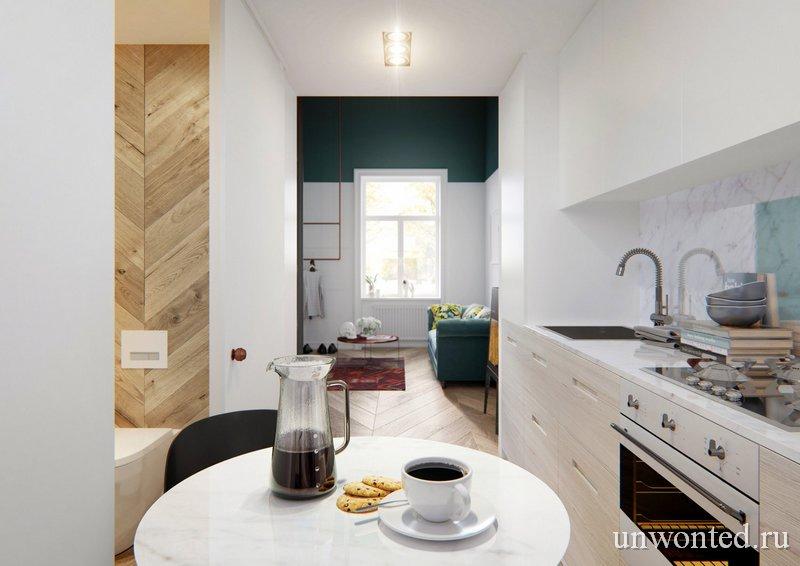 Кухня в квартире с мезонином - О мой Босх