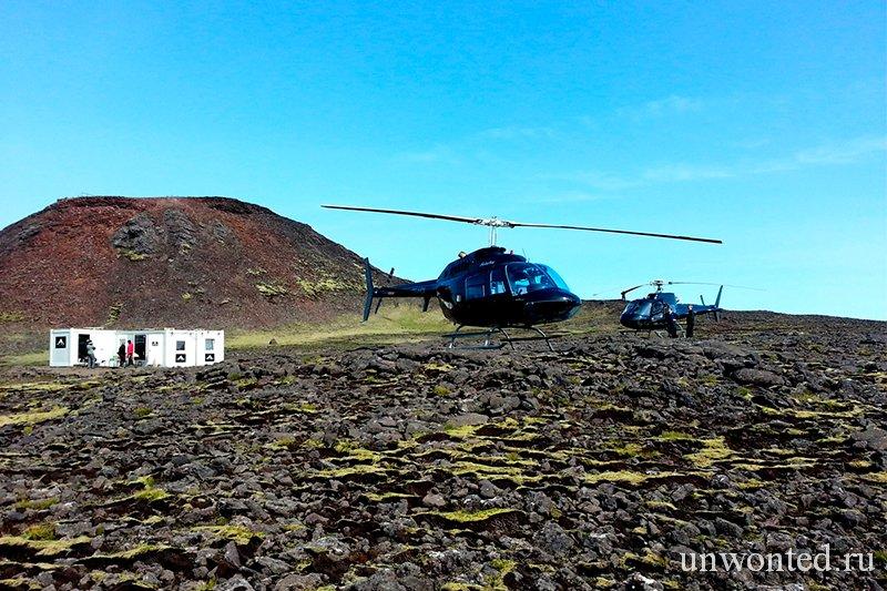 Вертолетный тур к сердцу вулкана Thrihnukagigur