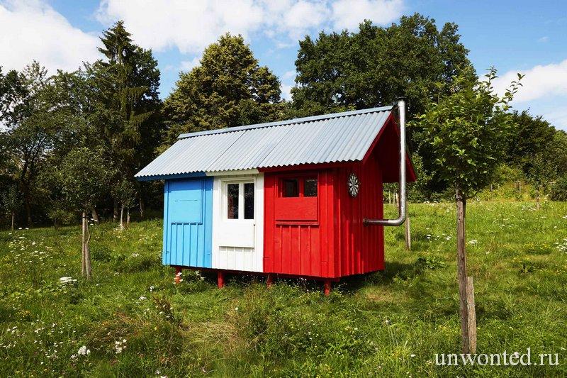 Крошечный дом своими руками