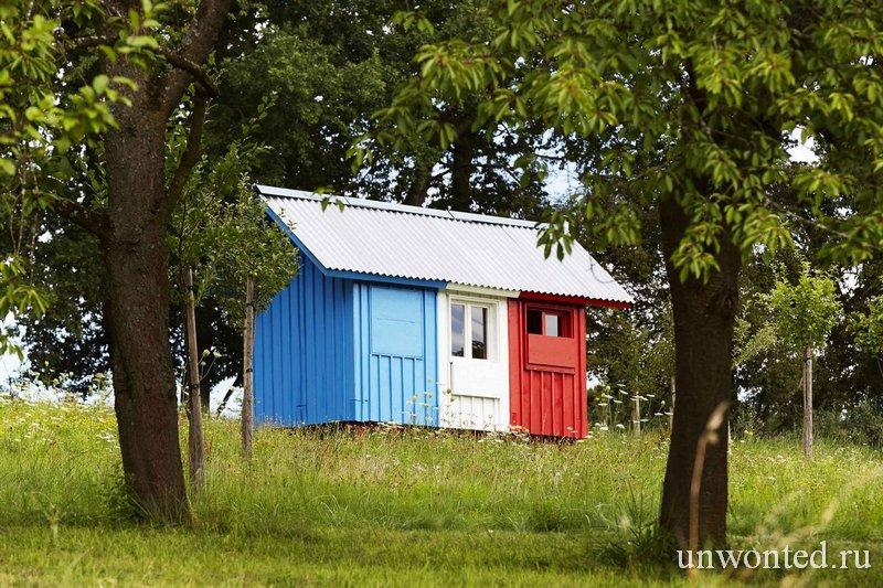 """Каркасный крошечный дом """"Франция"""" от Pin-up Houses"""