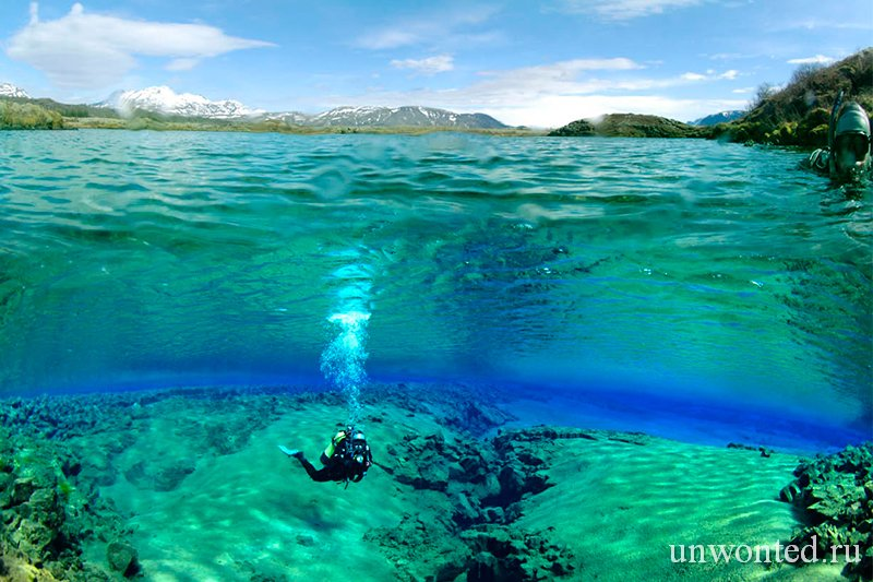 Подъем на поверхность - Silfra Lagoon