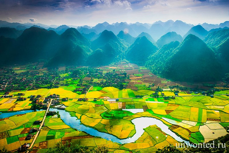 Достопримечательности Вьетнама - Долина Бак Сон