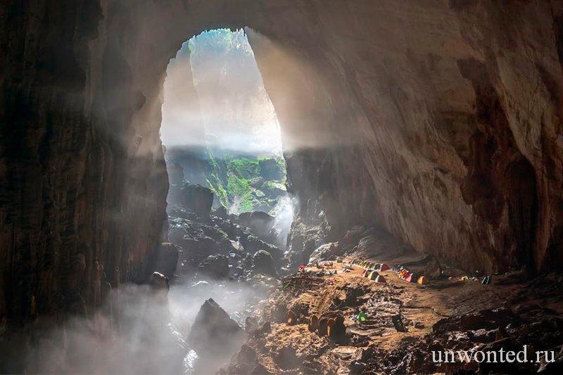 Достопримечательности Вьетнама - Пещера Сон Донг