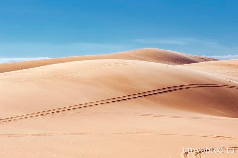Достопримечательности Вьетнама - Белые дюны Муйне