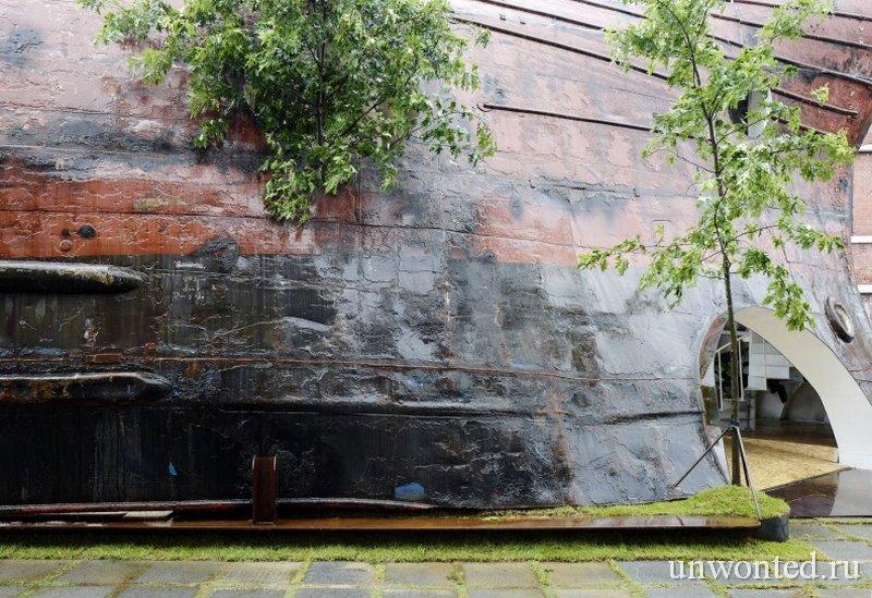 Павильон - корабль Temp'L