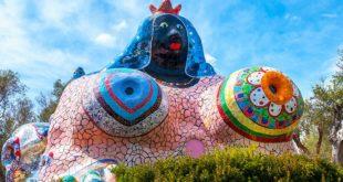 Самые необычные скульптурные парки и сады мира