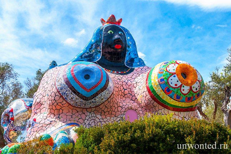 Необычные скульптурные парки и сады мира