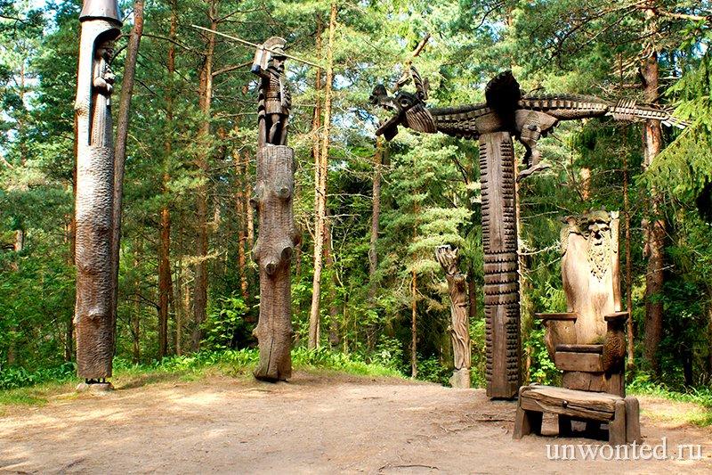 Парк деревянных скульптур Гора Ведьм