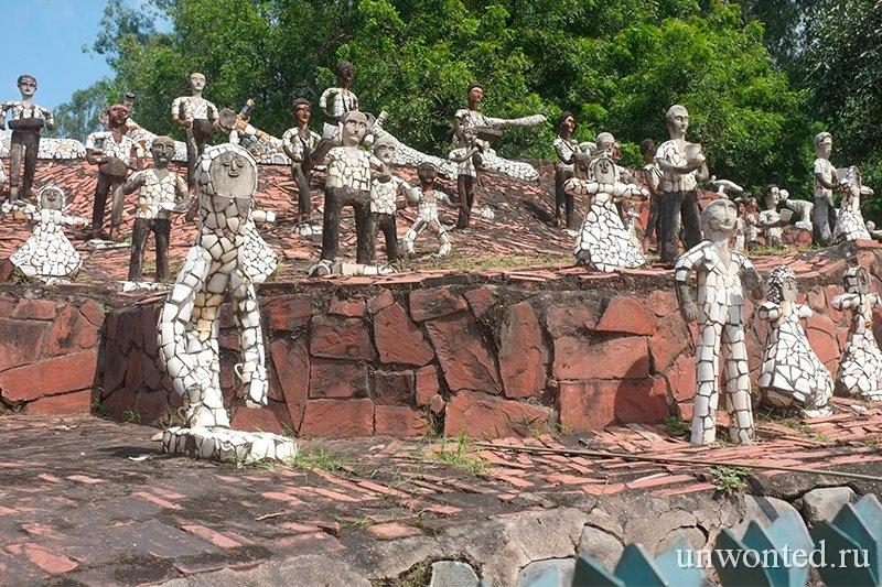 Скульптурный сад Rock Garden