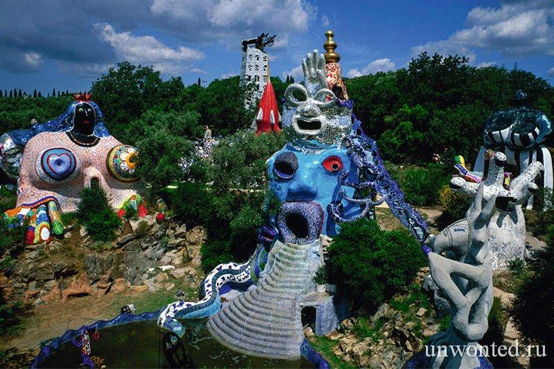 Скульптурный Сад Таро