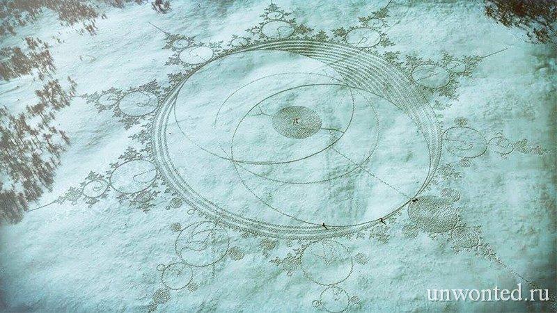 Снежные круги Саймона Бека