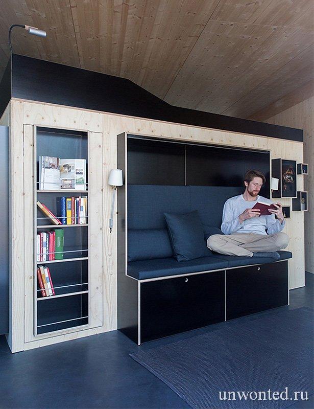 Шкаф для малогабаритной комнаты фото - Kammerspiel