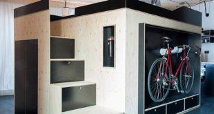 Шкаф для малогабаритной квартиры Kammerspiel от Нильса Хольгера Мурманна