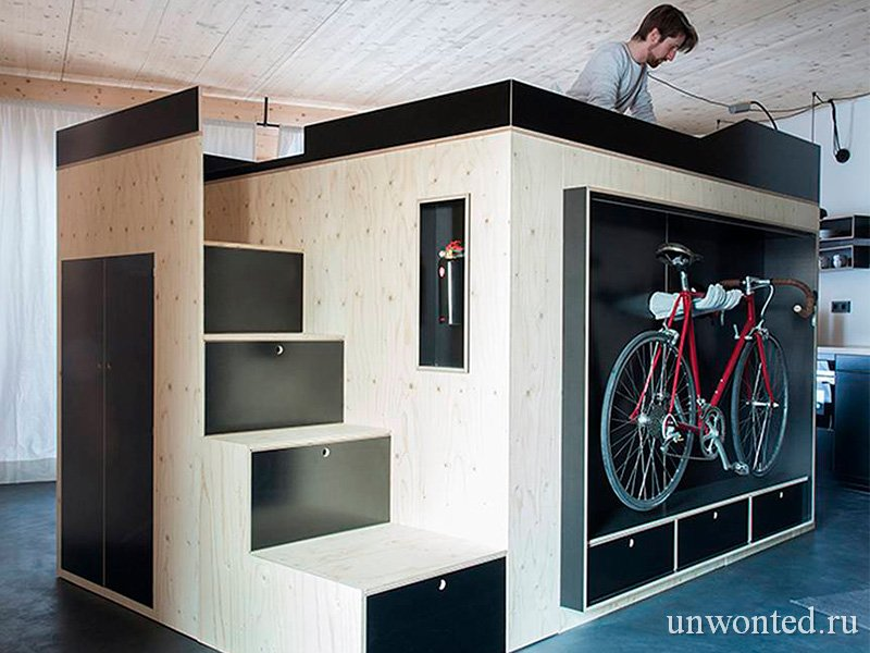 Шкаф для малогабаритной квартиры Kammerspiel