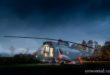Отель в вертолете Sea King в Стерлинге