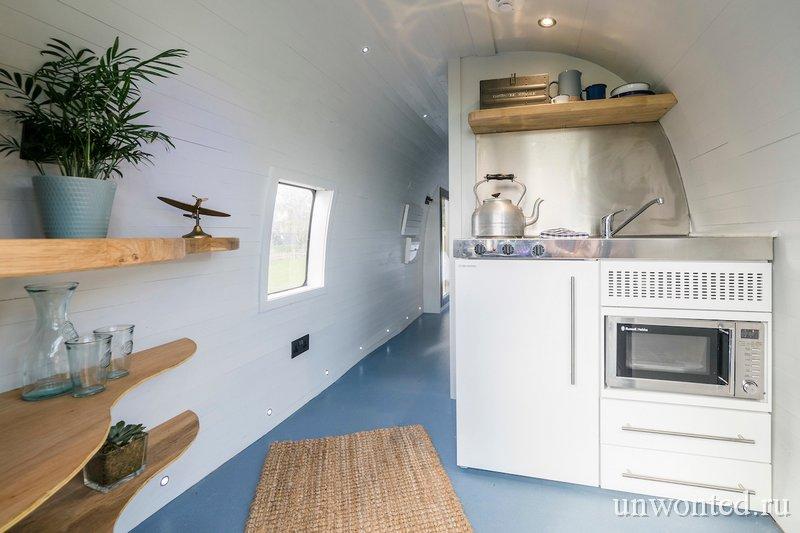 Мини-кухня в вертолете Sea King