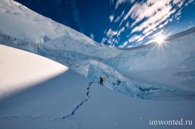 Туризм в Антарктиде -нулевое воздействие