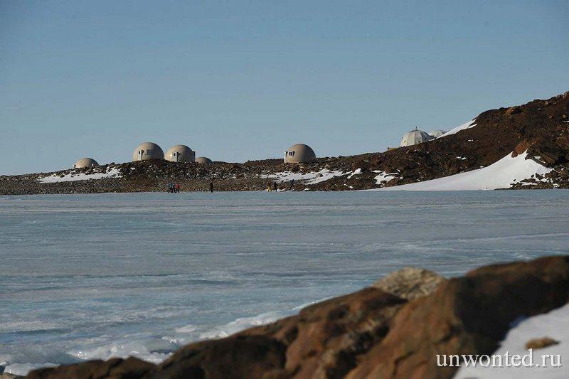 Временные домики Whichaway в Антарктиде