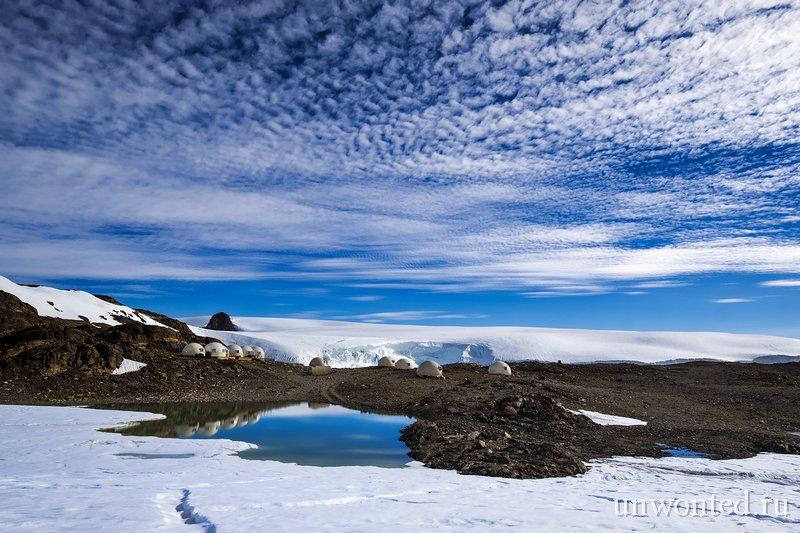 Кемпинг Whichaway в Антарктиде