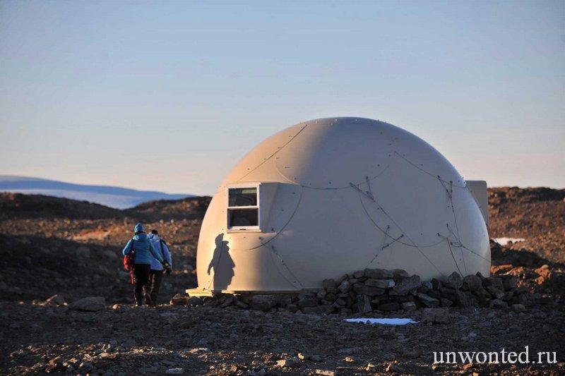 Сферический домик кемпинга Whichaway