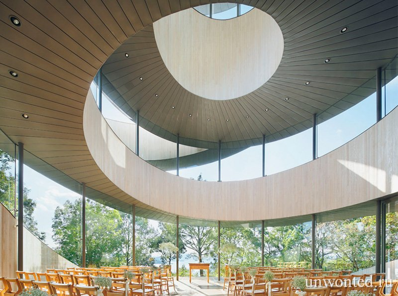Ribbon Chapel ленточная капелла