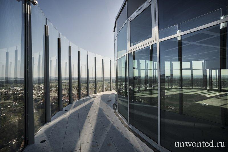 Смотровая площадка ThyssenKrupp самая высокая в Германии