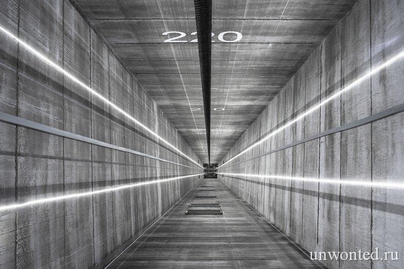 Лифтовая шахта ThyssenKrupp