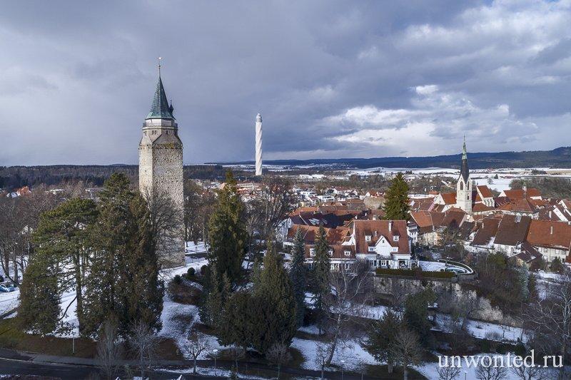 Башня ThyssenKrupp в городе Ротвайль