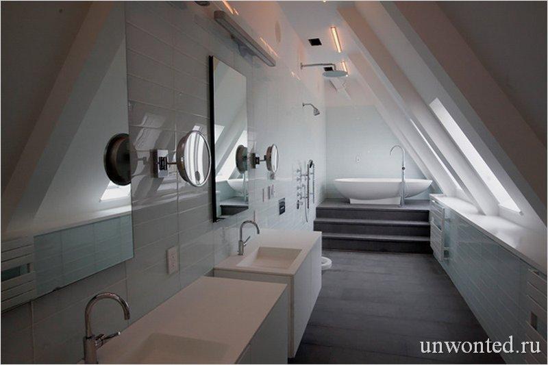 Главная ванная комната ClockTower